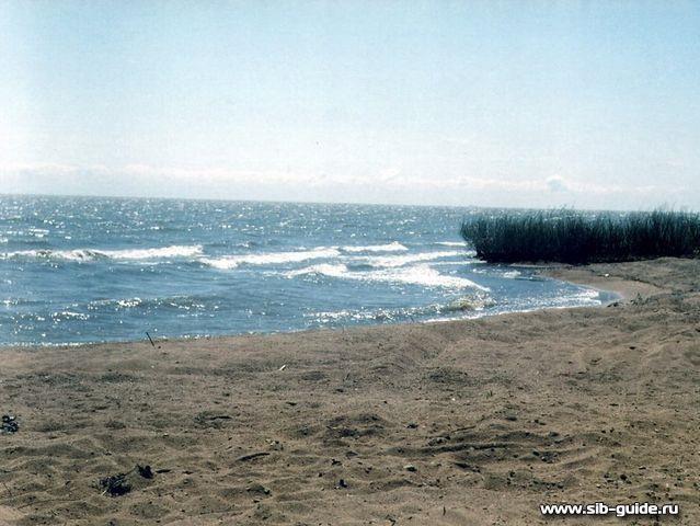 фото камня рыболова на озера ханки
